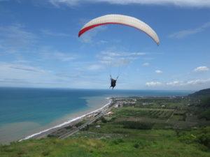 family paragliding Taiwan
