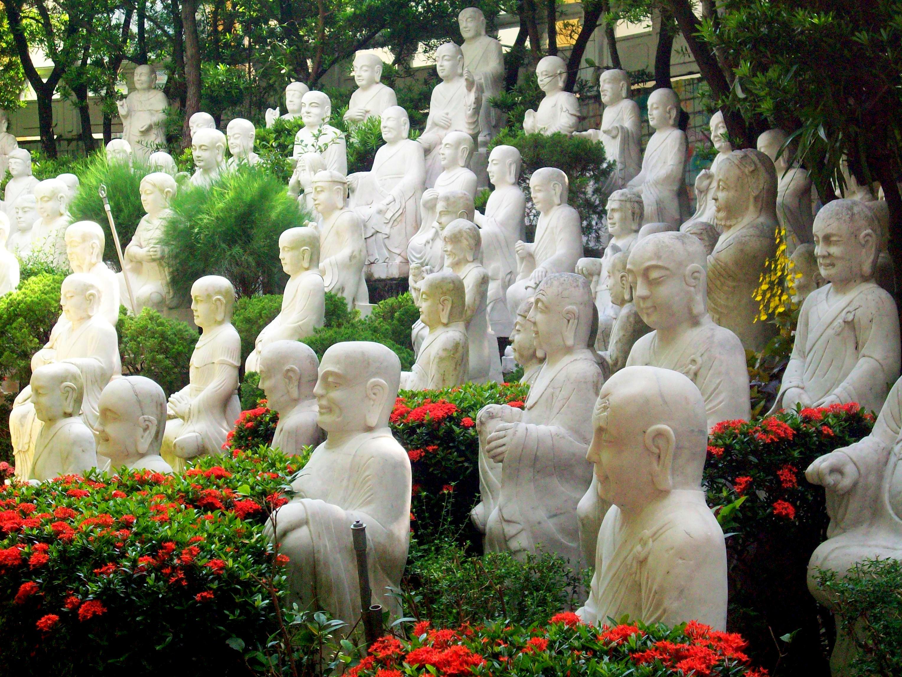 Fo Guang Shan Monastery in Kaohsiung, Taiwan