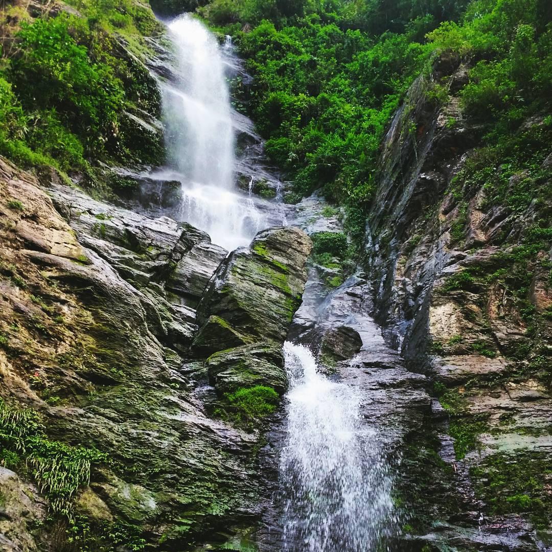 Liangshan waterfall, Pingtung county, Taiwan