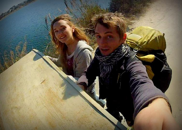 Hitched a ride outside of Pokhara, Nepal