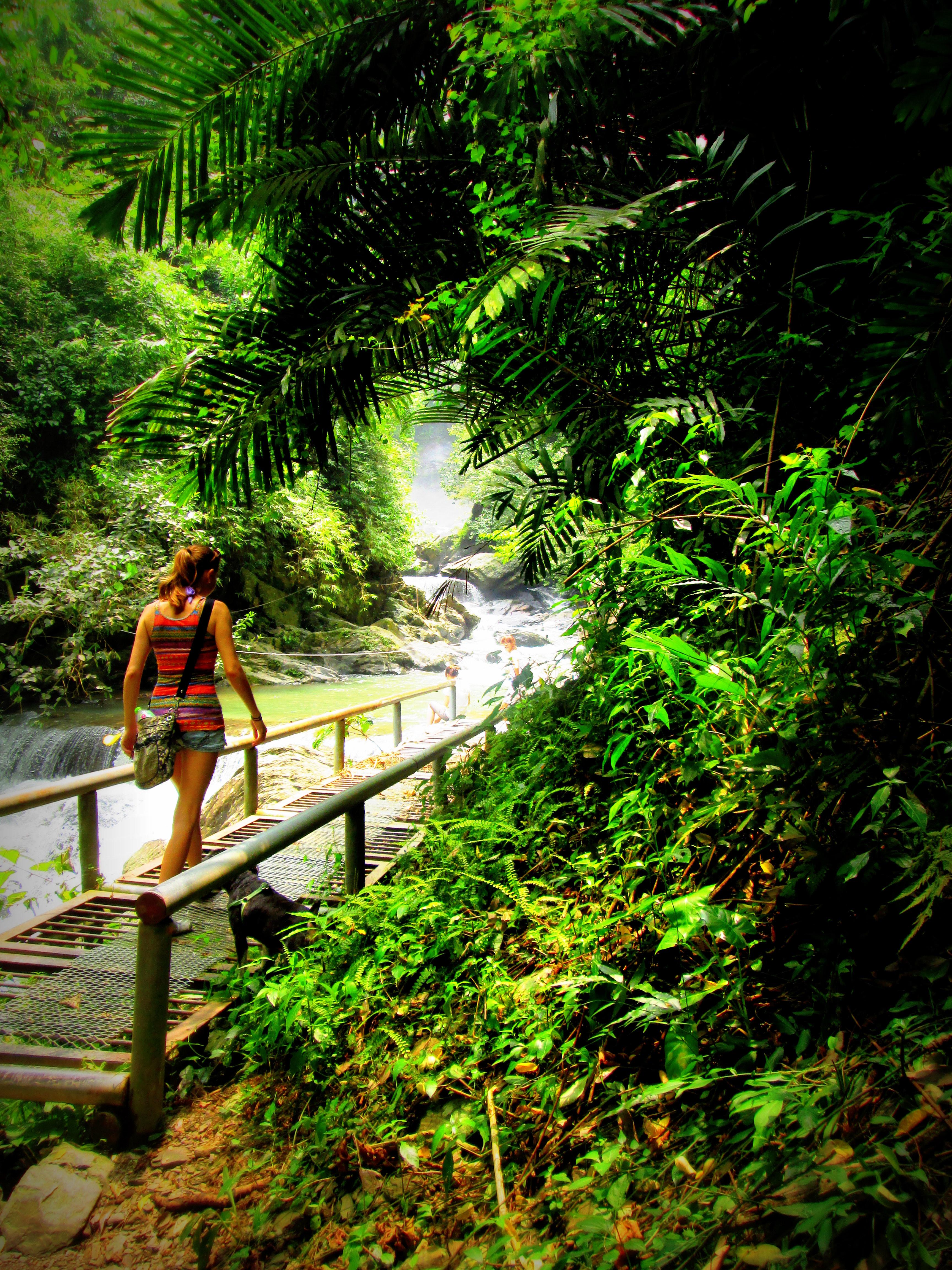 Liang Shan Waterfall, Pingtung Taiwan