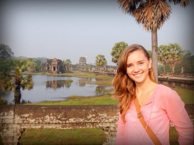 At Angkor Wat, Cambodia