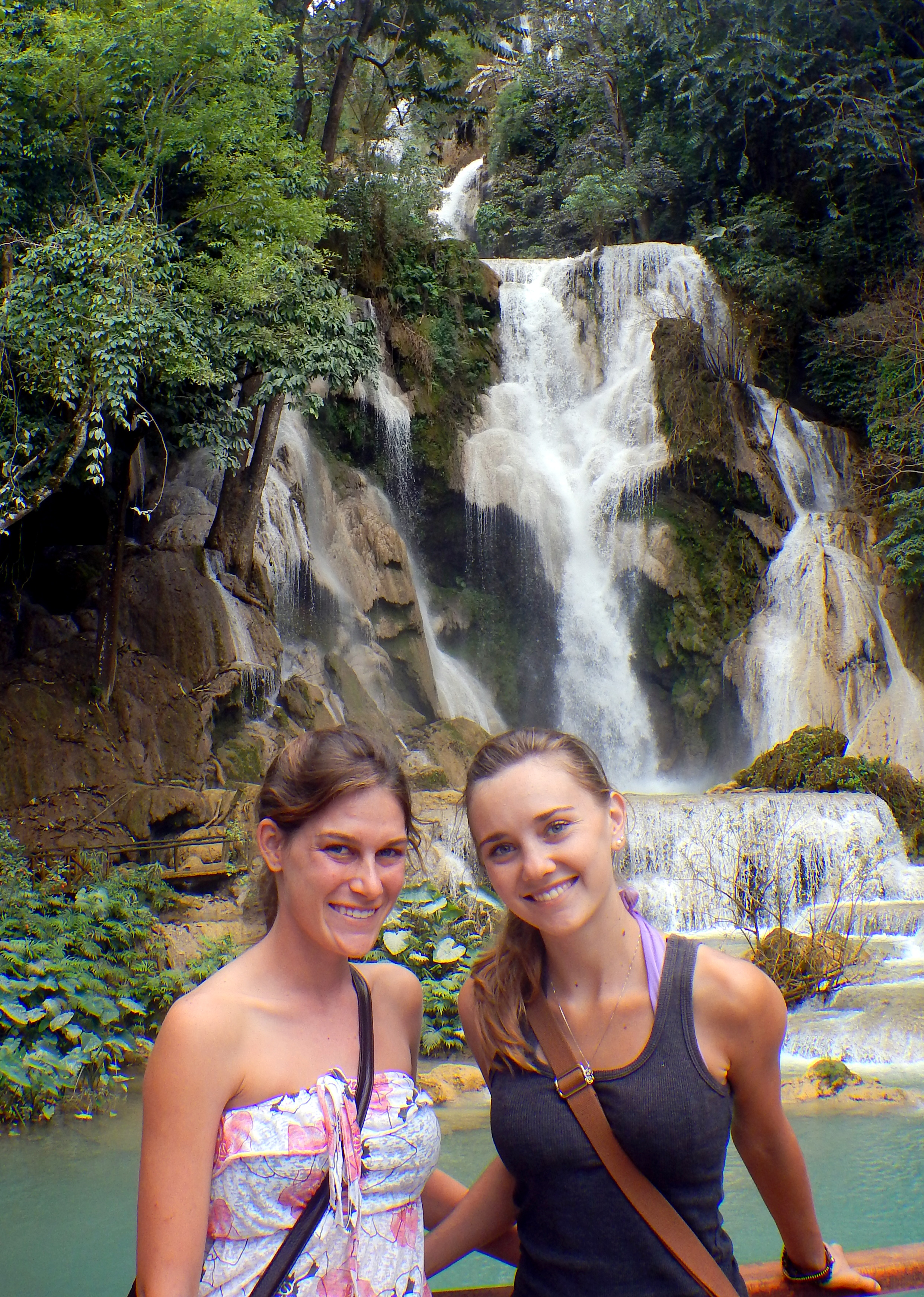 Kuang Si Waterfall near Luang Prabang, Laos