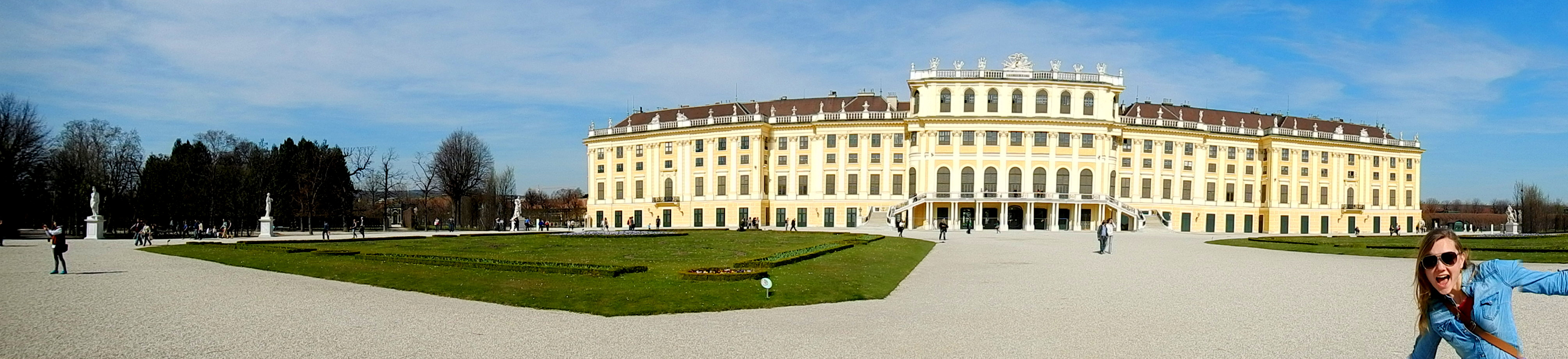 Schönbrunn Palace in Vienna, Austria