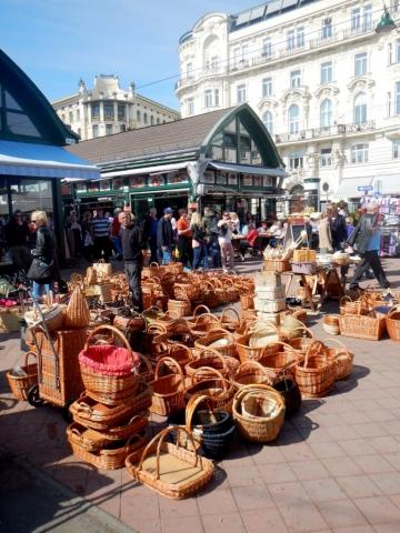 Vienna market Austria