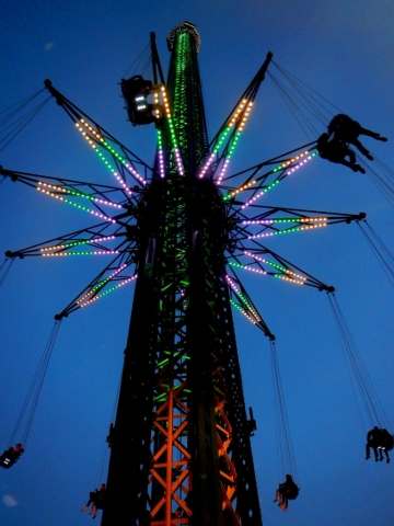 Prater Tower in Vienna, Austria