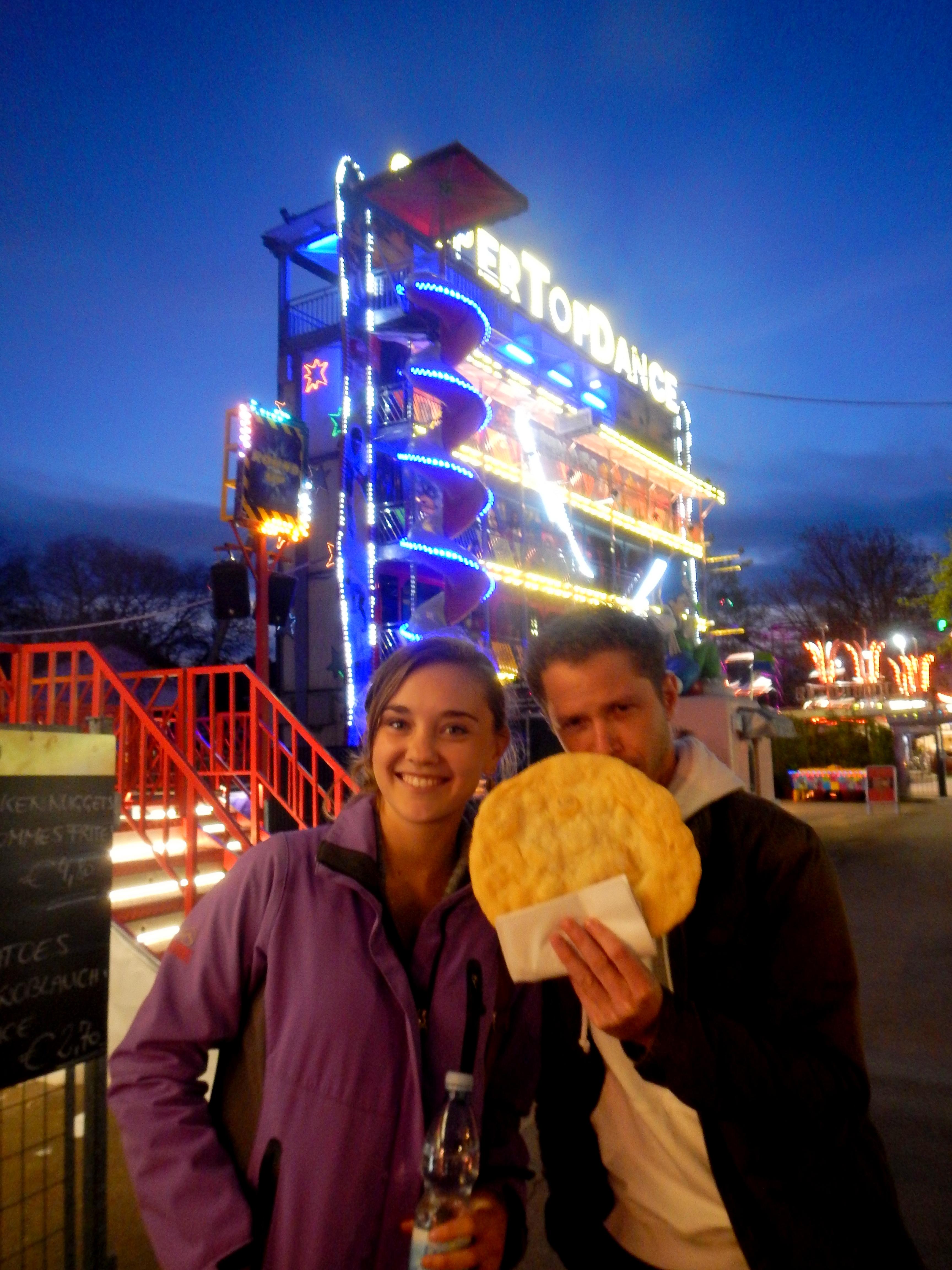 Prater Theme Park in Vienna, Austria