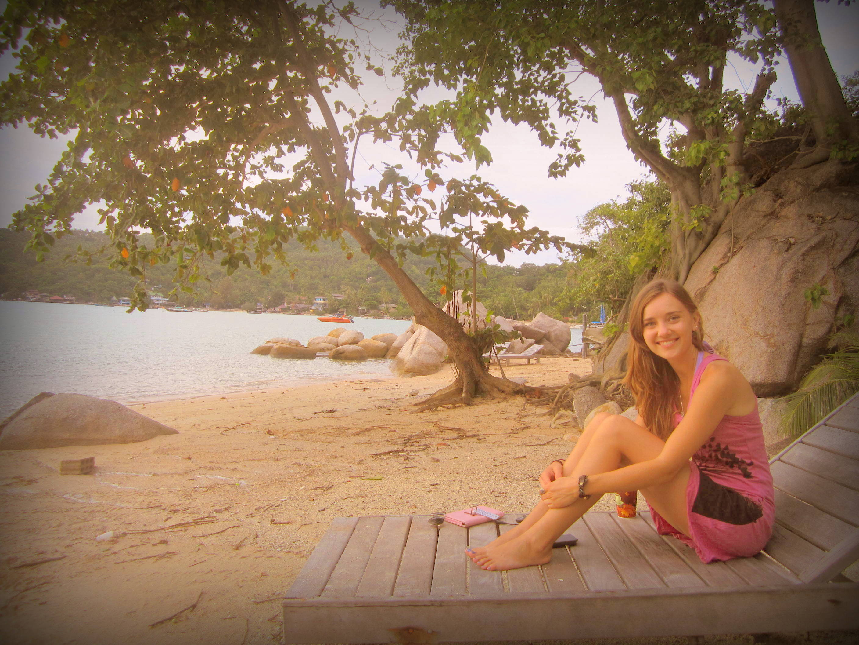 Chalok Baan Kao Beach on Koh Tao, Thailand