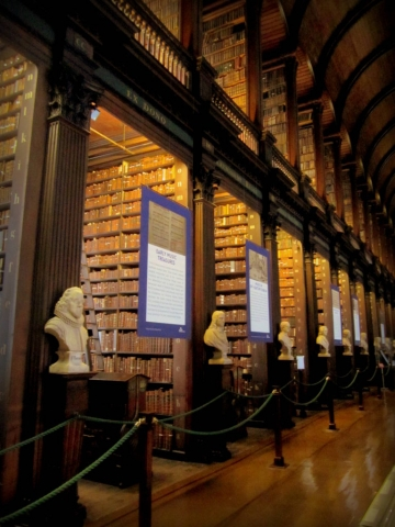 Book of Kells Library, Dublin Ireland