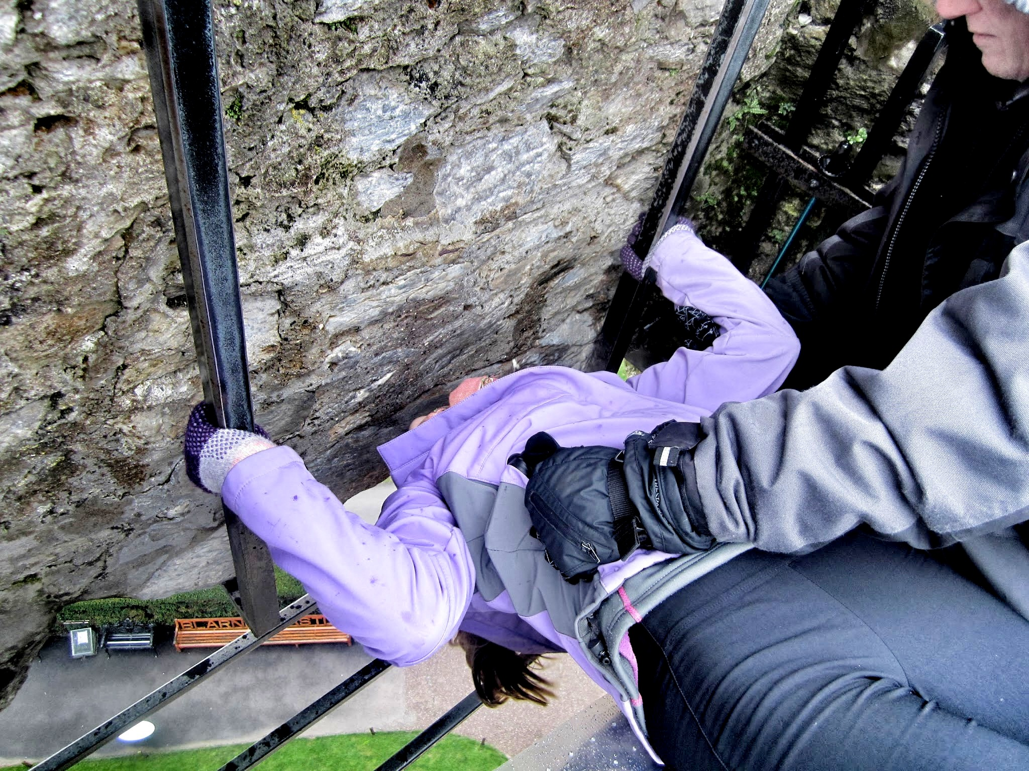 Kissing the Blarney Stone, Ireland