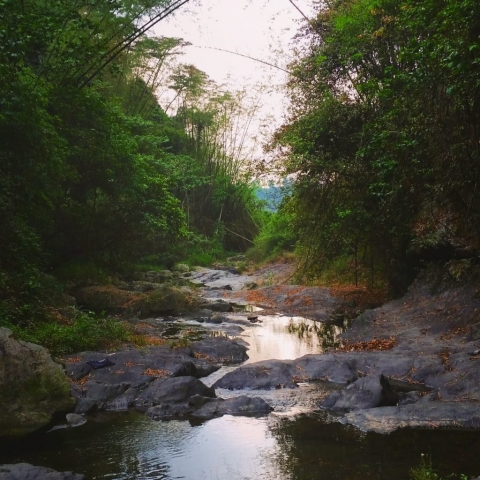 Oxbow Waterfalls, Pingtung County, Taiwan