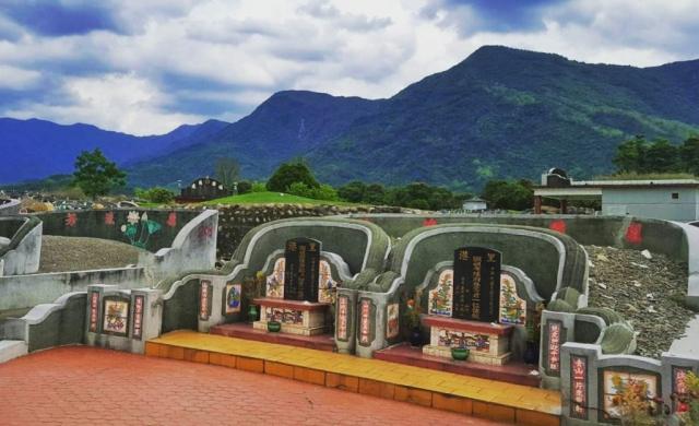 A graveyard in Pingtung County, Taiwan