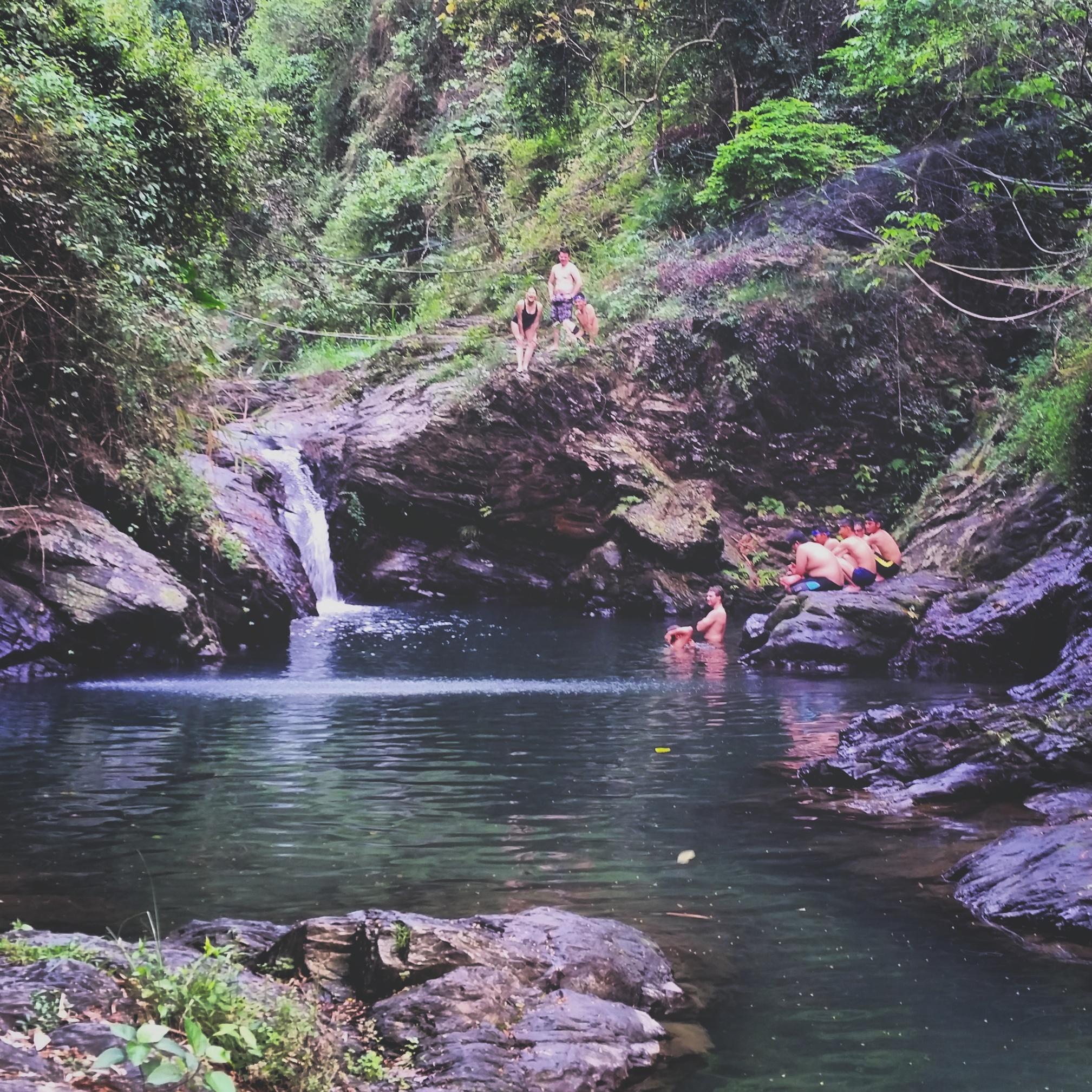 Oxbow Waterfall, Pingtung County, Taiwan