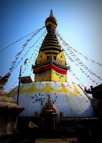 Swayambhu Stupa, Kathmandu, Nepal