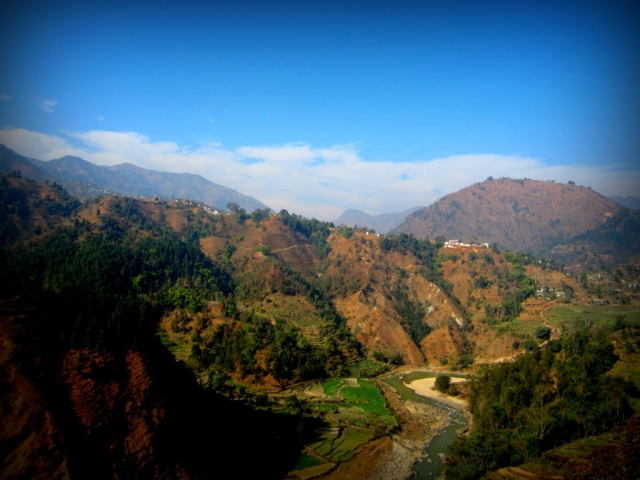 Somewhere along the road from Chitwan to Pokhara. Nepal