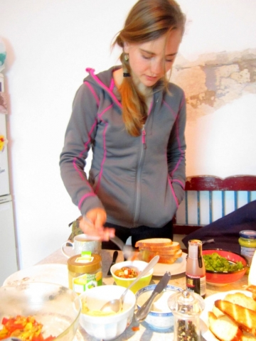 Cooking in Graz, Austria