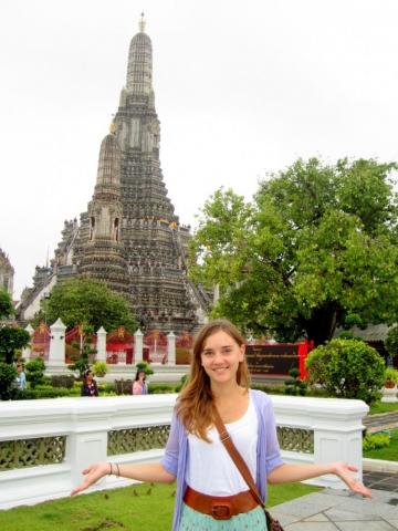 Wat Arun in Bangkok, Thailand