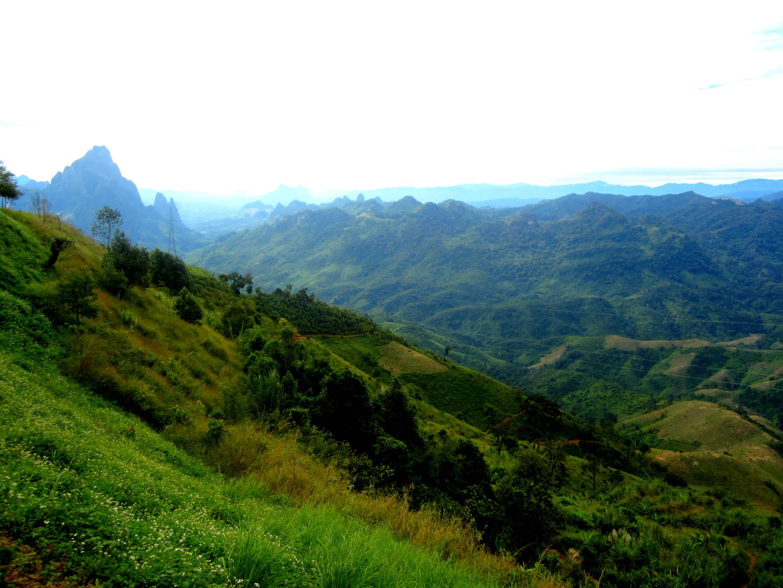 Laotian countryside