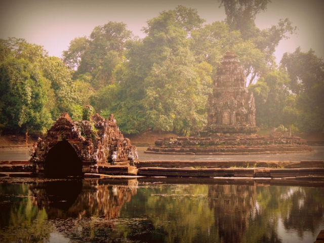 Neak Pean, the sunken temple, Cambodia