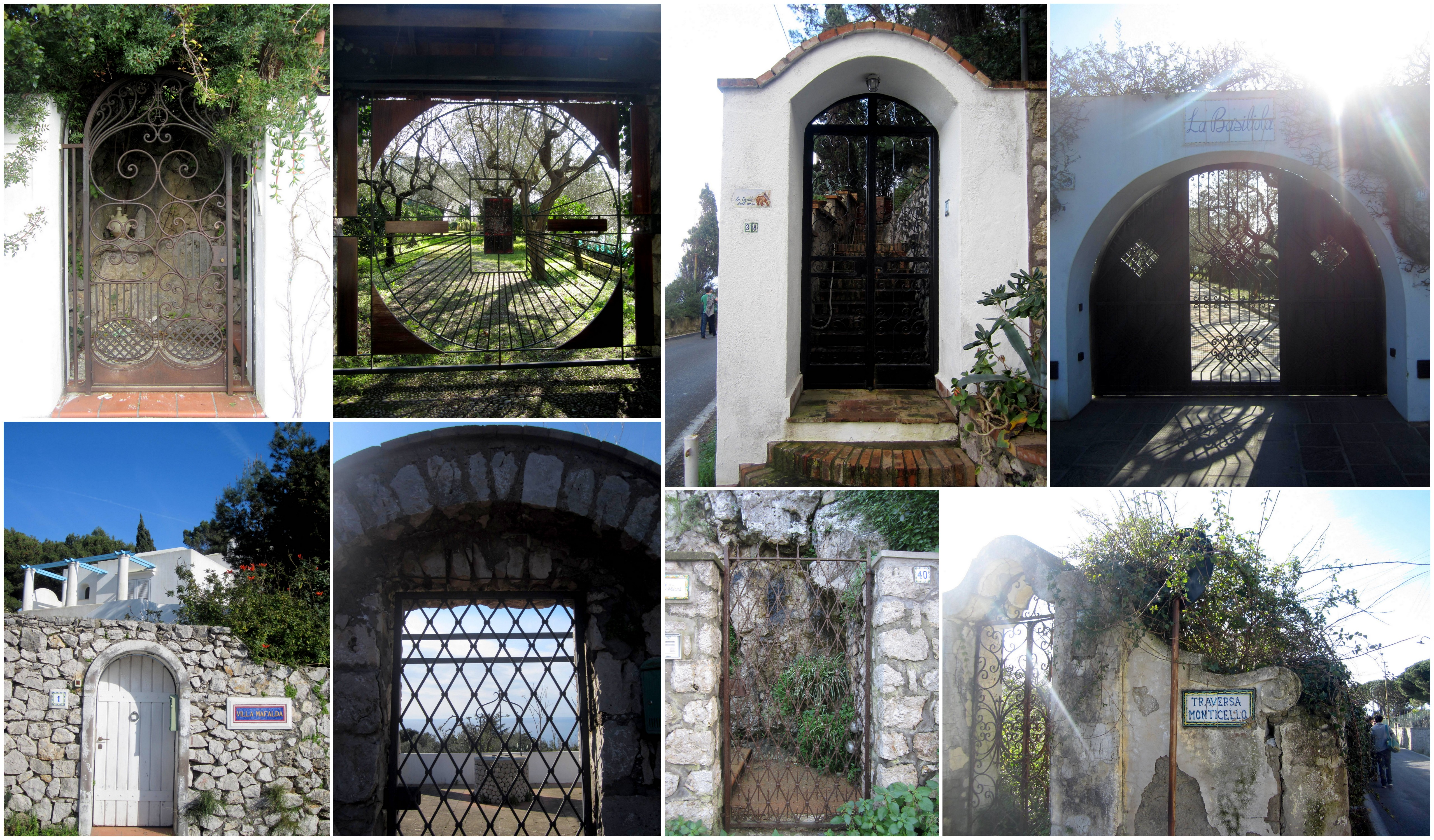 Gates of Capri, Italy