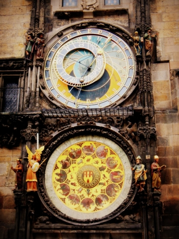 The Astronomical Clock. Prague, Czech Republic
