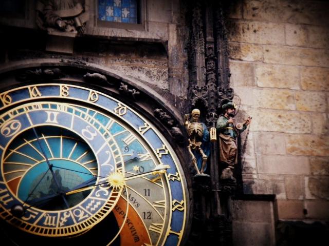 The Astronomical Clock. Prague, Czech Republic