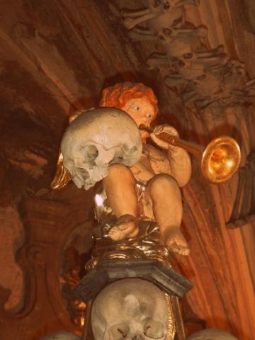 The Bone Church of Kutna Hora, Czech Republic