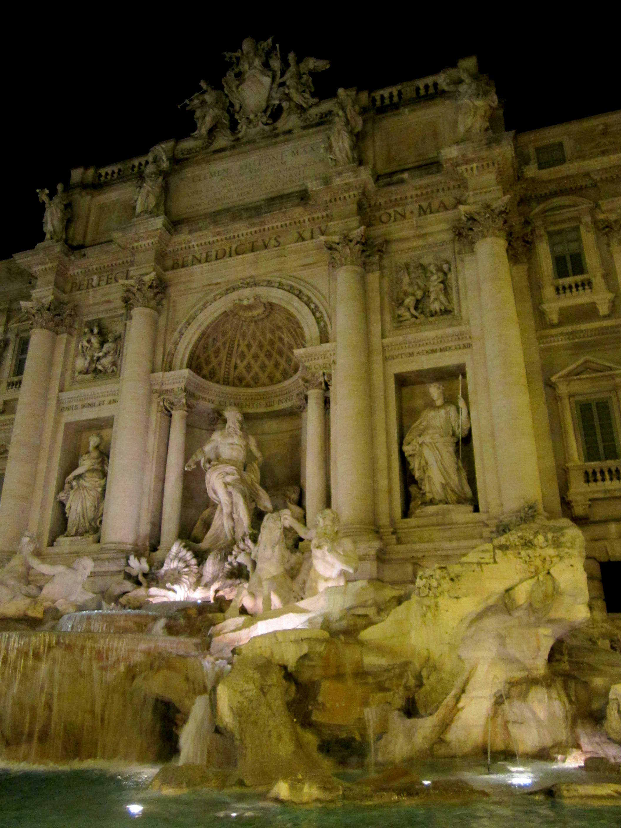 Trevi Fountain. Rome, Italy