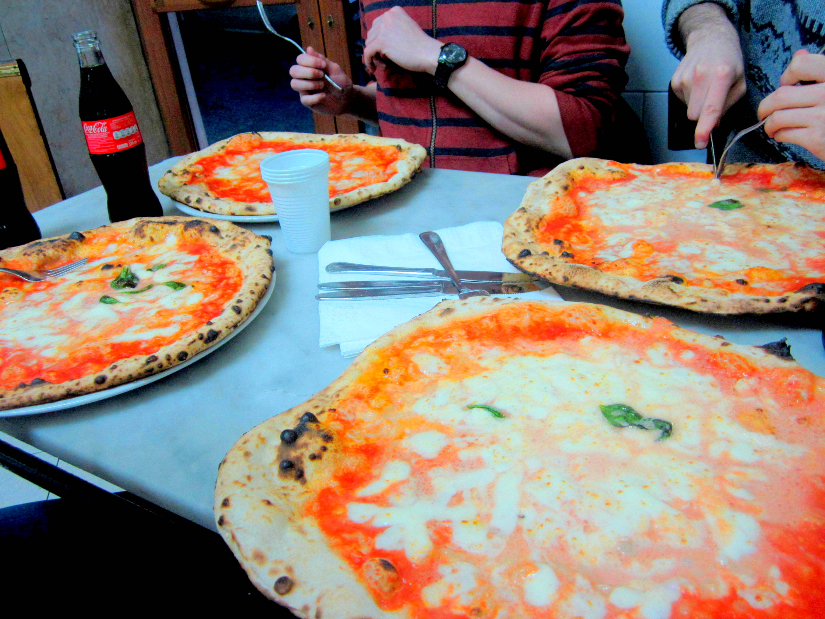 (The birthplace of pizza) Naples, Italy