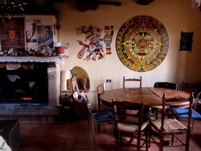 Commune life. Arcidosso, Italy