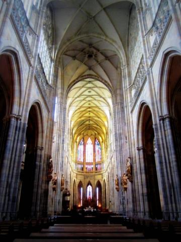 St. Vitus Cathedral. Prague, Czech Republic