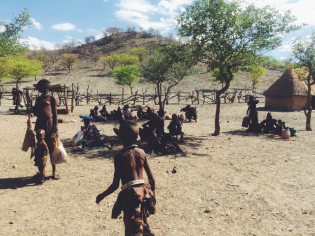 Opuwa, Namibia - Himba tribe