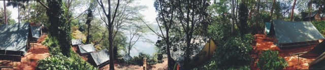 Jinja, Uganda- we camped at Explorers River Camp