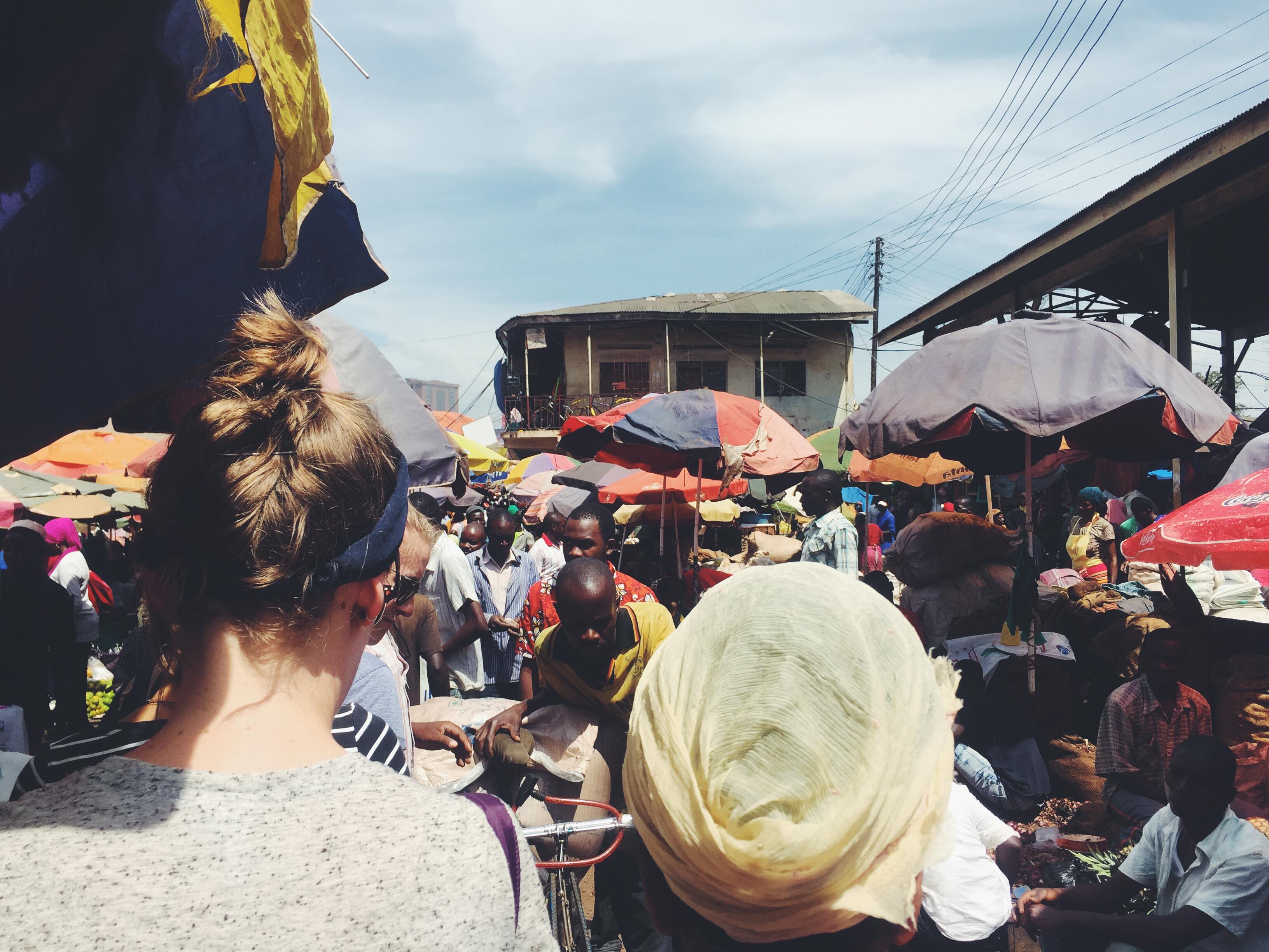 Kampala, Uganda- Owino Market