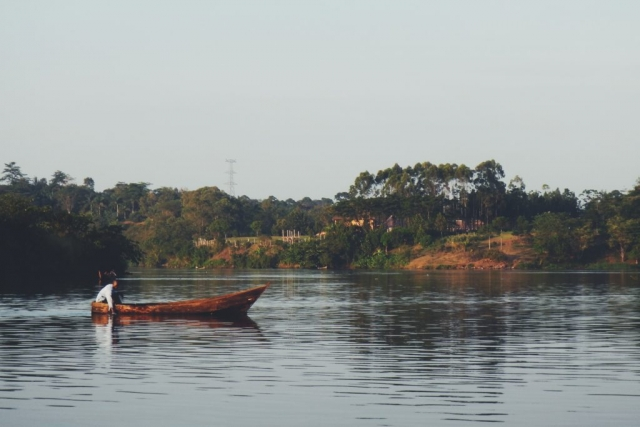 Jinja, Uganda- the mouth of the Nile