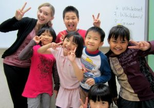 Teaching English at Clover English School